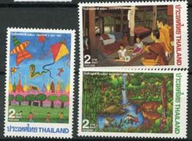 Thailand, michel 1627/29, xx