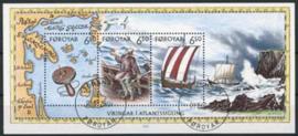 Faroer, michel blok 12, o