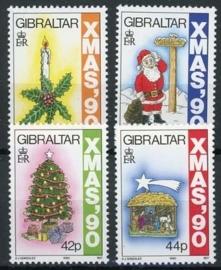 Gibraltar, michel 609/12, xx