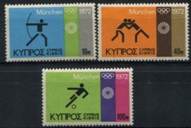 Cyprus, michel 377/79, xx