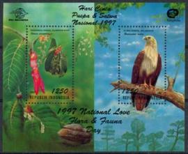 Indonesie, michel blok 124, xx