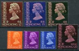 Hong Kong, michel 317/23, xx