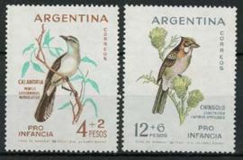 Argentinie, michel 806/07, xx