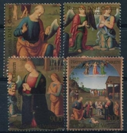 Vaticaan, michel 1319/22, xx
