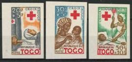 Togo, michel 268/70 B, xx
