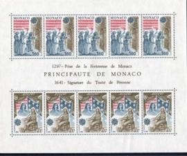 Monaco, michel blok 19, xx
