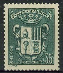 Andorra Fr., michel 58, x