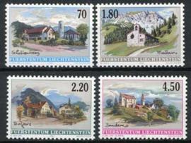 Liechtenstein, michel 1262/65, xx