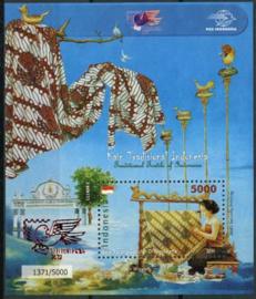 Indonesie, zbl. blok 290, xx