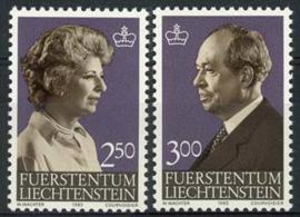 Liechtenstein, michel 828/29, xx