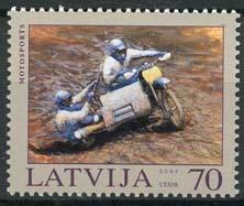 Letland, michel 599 A, xx