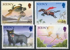 Jersey, michel 783/86, xx