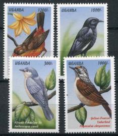 Uganda, michel 2139/42, xx