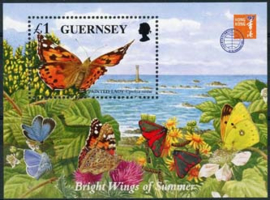 Guernsey, michel blok 18, xx