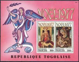Togo, michel blok 122, xx
