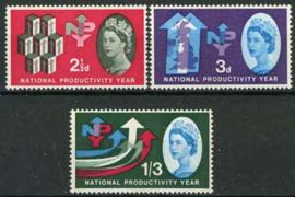 Engeland, michel 351/53 x, xx