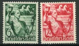 Duitse Rijk, michel 660/61, xx
