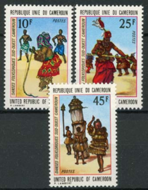 Cameroun, michel 742/44, xx
