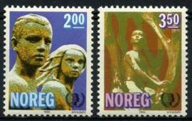 Noorwegen, michel 924/25, xx