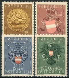 Oostenrijk, michel 937/40, xx