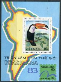 Vietnam, michel blok 21, xx