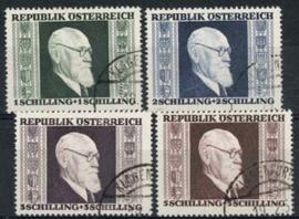 Oostenrijk, michel 772/75 A, o