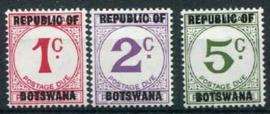 Botswana, michel P 1/3, xx