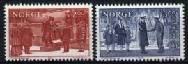 Noorwegen, michel 865/66, xx