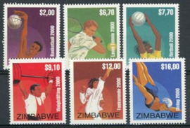 Zimbabwe, michel 673/78, xx