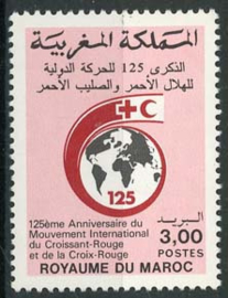 Marokko, michel 1139, xx