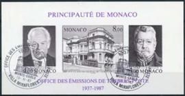 Monaco, michel blok 37 B, o
