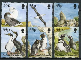 Falkland, michel 653/58, xx