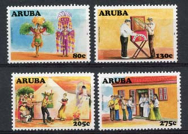 Aruba, nvph 392/95, xx