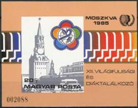 Hongarije, michel blok 178 B, xx