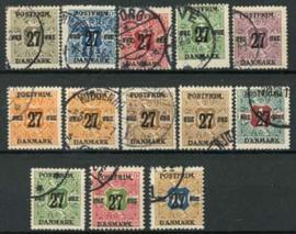 Denemarken, michel 84/96, o