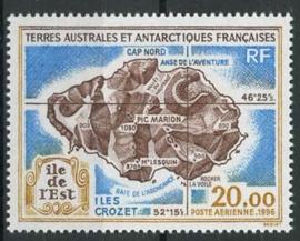 Antarctica Fr., michel 349, xx