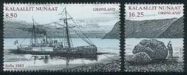Groenland, michel 519/20, xx