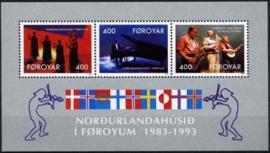 Faroer, michel blok 6, xx