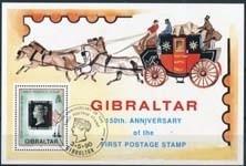 Gibraltar, michel blok 15, o