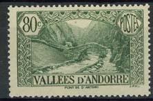 Andorra Fr., michel 67, x