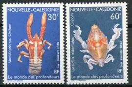 N.Caledonie, michel 884/85, xx