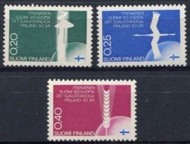 Finland, michel 633/35, xx