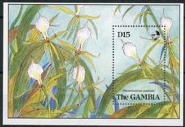 Gambia, michel blok 85, xx lees