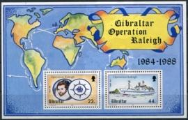 Gibraltar, michel blok 11, xx