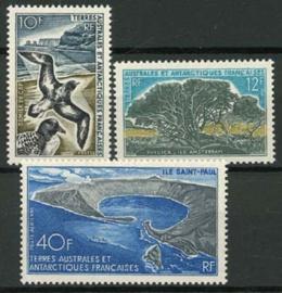 Antarctica Fr., michel 46/48, xx