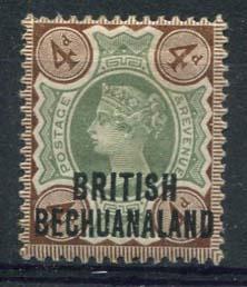 Bechuanaland, michel 42, x