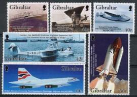 Gibraltar, michel 1036/41, xx