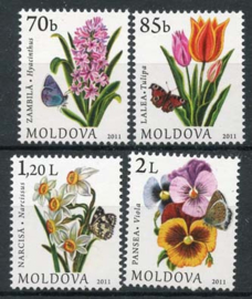 Moldavie, michel 751/54, xx