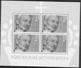 Liechtenstein, michel blok 27, xx