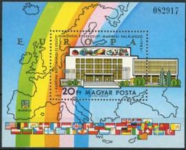 Hongarije, michel blok 168 A, xx
